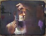 'Gillette' (2014) 80x100cm, oil on canvas