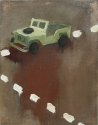 Lieven Decabooter   'Last mission' (2005) 70x55 cm, oil on canvas.