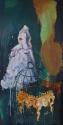Lieven Decabooter | 'Aber bitte mit sahne' (2010) 200x100 cm, oil on canvas.